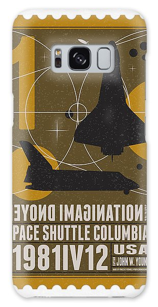 Science Fiction Galaxy Case - Starschips 01-poststamp - Spaceshuttle by Chungkong Art