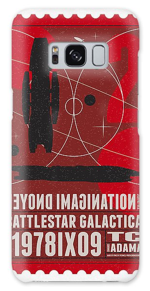 Science Fiction Galaxy Case - Starschips 02-poststamp - Battlestar Galactica by Chungkong Art
