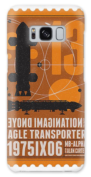 Science Fiction Galaxy Case - Starschips 13-poststamp - Space 1999 by Chungkong Art
