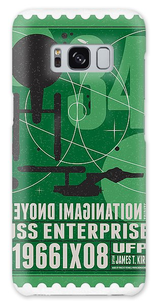 Science Fiction Galaxy Case - Starschips 34-poststamp - Uss Enterprise by Chungkong Art
