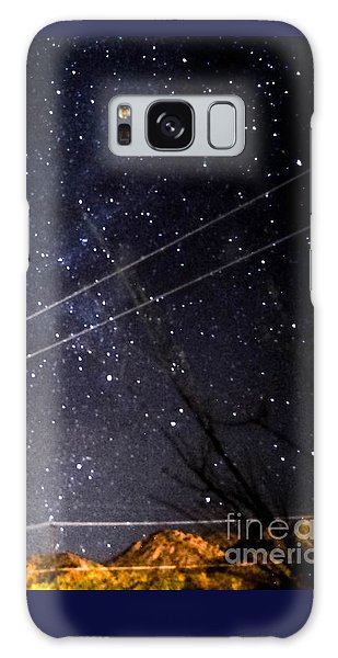 Stars Drunk On Lightpaint Galaxy Case