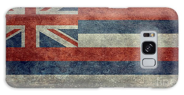 State Flag Of Hawaii Vintage Version Galaxy Case