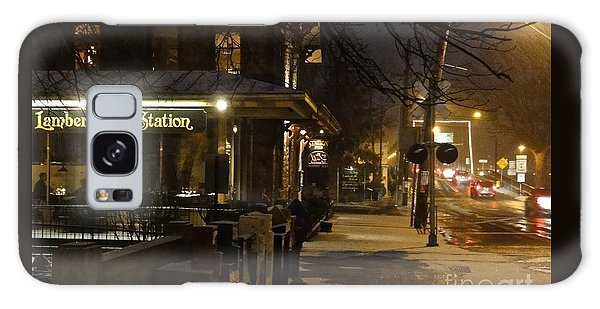 Station In Snow Galaxy Case