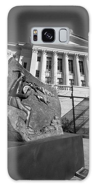 Statue Near The Capital Galaxy Case