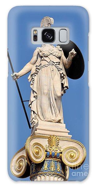 Statue Of Athena Galaxy Case