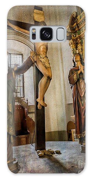 World Religion Galaxy Case - Statue Of Jesus by Adrian Evans
