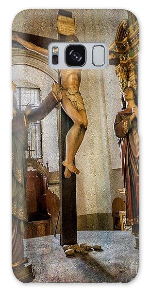 Statue Of Jesus Galaxy Case
