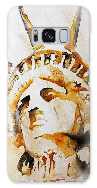 Statue Of Liberty Closeup Galaxy Case