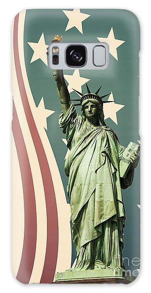 Statue Of Liberty Galaxy Case