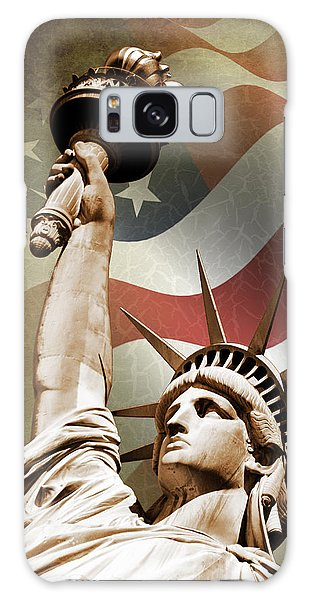 New Galaxy Case - Statue Of Liberty by Mark Rogan