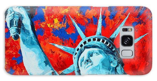 Statue Of Liberty - Lady Liberty Galaxy Case