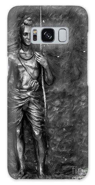 Statue Of Lord Sri Ram Galaxy Case