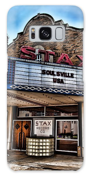 B B King Galaxy Case - Stax Records by Stephen Stookey
