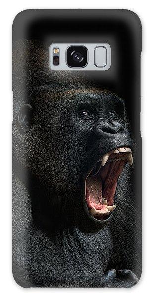 Gorilla Galaxy S8 Case - Stay Away by Joachim G Pinkawa