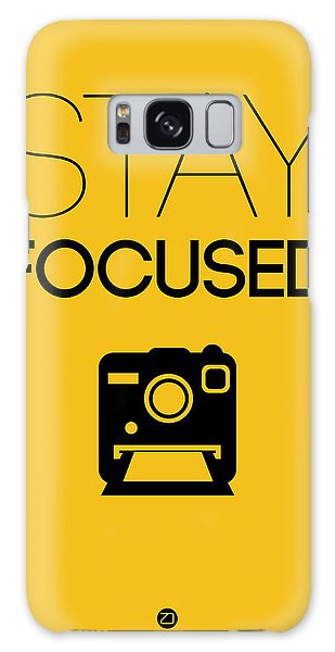 Camera Galaxy Case - Stay Focused Poster 2 by Naxart Studio