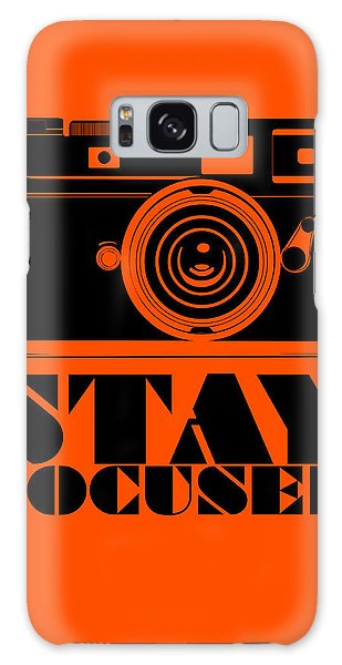 Motivational Galaxy Case - Stay Focused Poster by Naxart Studio