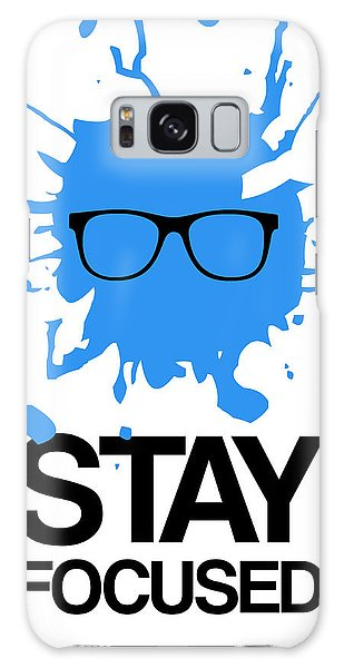 Office Galaxy Case - Stay Focused Splatter Poster 2 by Naxart Studio