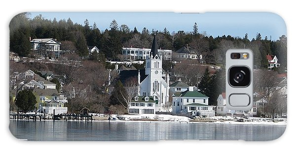Ste. Anne's Catholic Church On Mackinac Island Galaxy Case