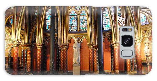 Ste.-chapelle Lower Chapel Galaxy Case by Jacqueline M Lewis