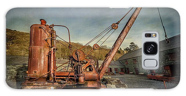 Rusty Chain Galaxy Case - Steam Crane by Adrian Evans