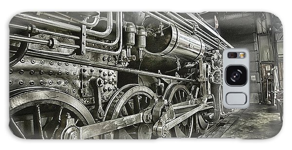 Steam Locomotive 2141 Galaxy Case by Theresa Tahara