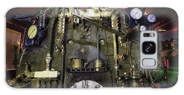 Steam Locomotive Engine Galaxy Case