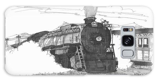Steam Town Scranton Locomotive Galaxy Case