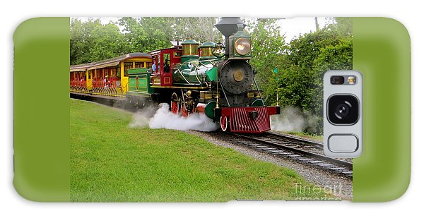 Steam Train Galaxy Case by Joy Hardee