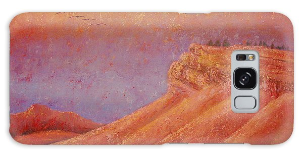Steamboat Mountain At Sunrise Galaxy Case by Margaret Bobb