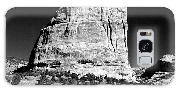 Steamboat Rock Black And White Three Galaxy Case