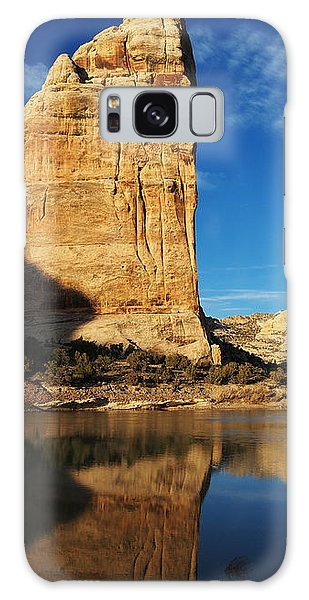 Steamboat Rock In Dinosaur National Monument Galaxy Case