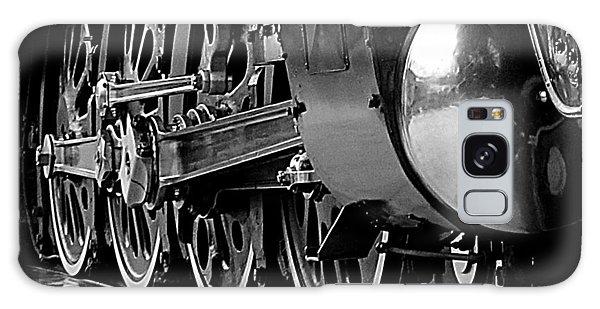 Steamer Up 844 Wheels Galaxy Case by Bartz Johnson