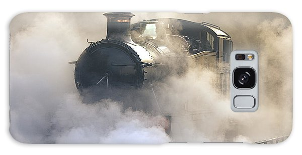 Steaming At Dawn No1 Galaxy Case