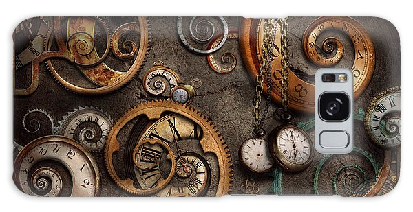 Steampunk - Abstract - Time Is Complicated Galaxy Case