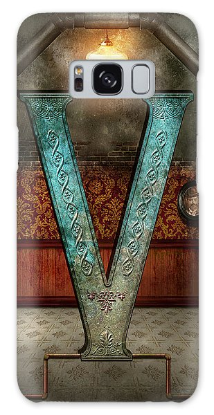 Patina Galaxy Case - Steampunk - Alphabet - V Is For Victorian by Mike Savad