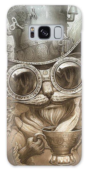 Steampunk Cat Galaxy Case