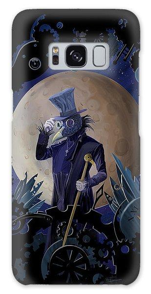 Crow Galaxy S8 Case - Steampunk Crownman by Sassan Filsoof