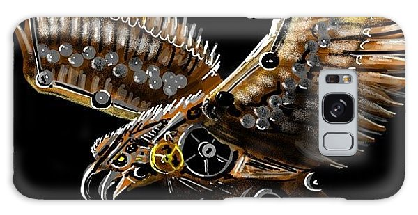 #steampunk #eagle #eagleds2 #bird Galaxy Case