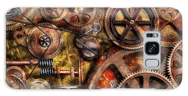 Steampunk - Gears - Inner Workings Galaxy Case