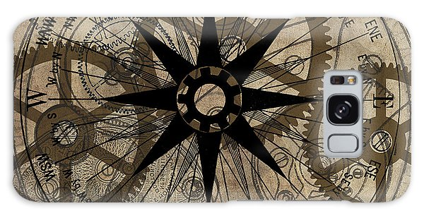 Steampunk Gold Gears II  Galaxy Case by James Christopher Hill
