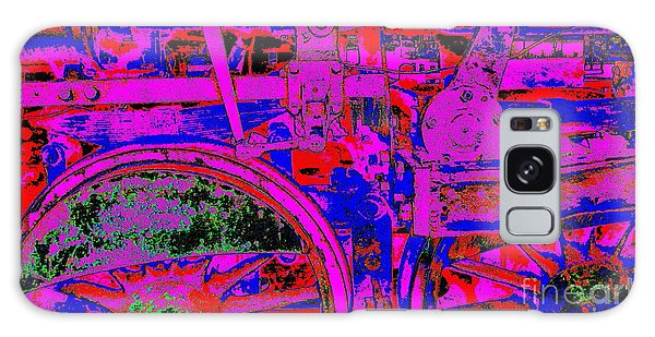 Steampunk Iron Horse #4 Galaxy Case by Peter Gumaer Ogden