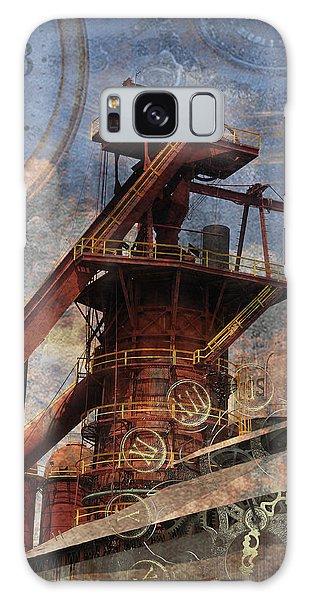 Steampunk Iron Mill Galaxy Case by Davina Washington