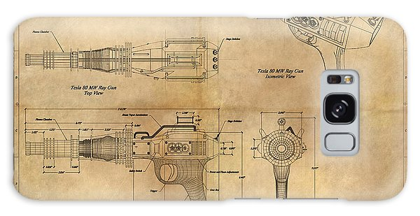 Steampunk Raygun Galaxy Case by James Christopher Hill
