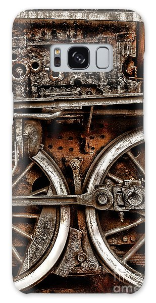 Steampunk- Wheels Locomotive Galaxy Case