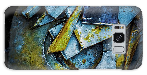 Steel Abstract Six Galaxy Case by Craig Perry-Ollila
