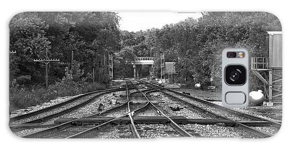 Steel Rail Intersections.   Point Of Rocks Md Galaxy Case