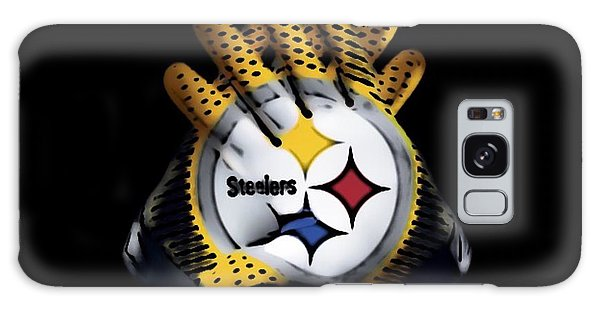Steelers Gloves Galaxy Case by Gayle Price Thomas