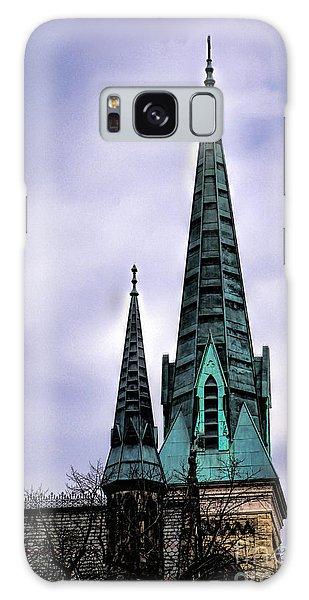 Steeple Of St Agnes Galaxy Case