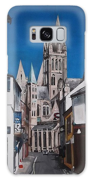 Steeples Galaxy Case by Cherise Foster