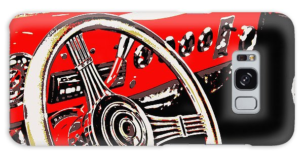 Steering Wheel Galaxy Case by Elizabeth Budd